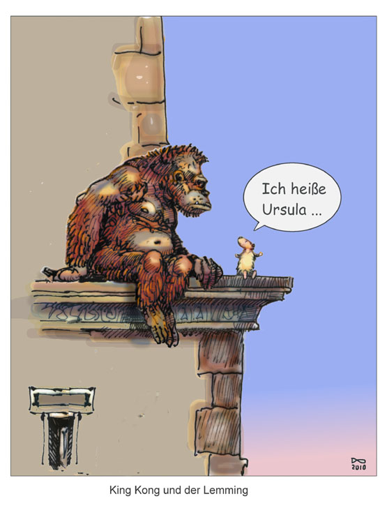 king kong & der lemming